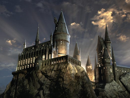 "It's official:  ""The Wizarding World of Harry Potter"""