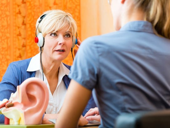 Scheduling regular hearing tests with an audiologist