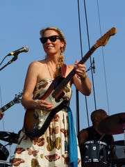 Susan Tedeschi of Tedeschi Trucks Band performs at Lockn' Music Festival on Sept. 8, 2013 in Arrington, Virginia.