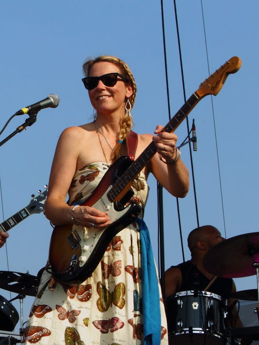 Derek Trucks, Eric Krasno, Susan Tedeschi, Tedeschi Trucks Band, Lockn' Festival
