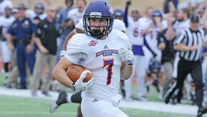 Northwestern State receiver and return specialist Ed Eagan has been named to the Fabulous 50, an FCS preseason All-America team.