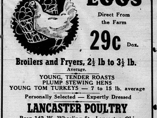 Lanc Poultry Ad 1946 April 4