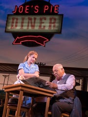 Desi Oakley as Jenna and Larry Marshall as Old Joe