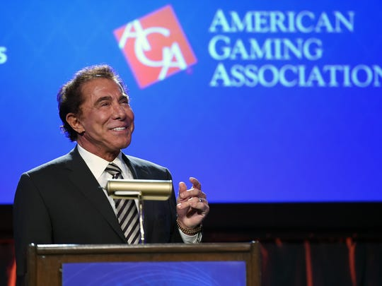 This file photo taken in 2014 shows Stephen Wynn, the