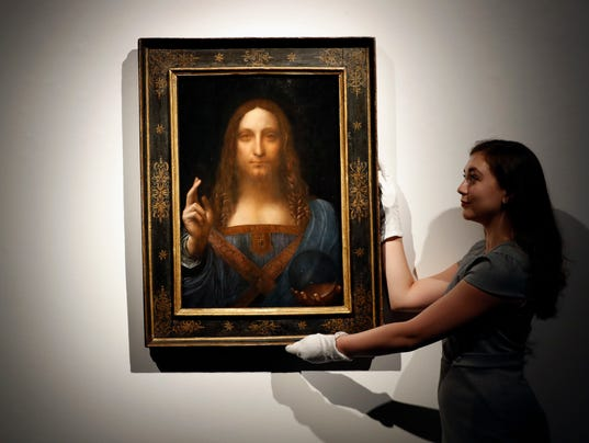 AP LEONARDO AUCTION ABU DHABI I FILE ENT GBR