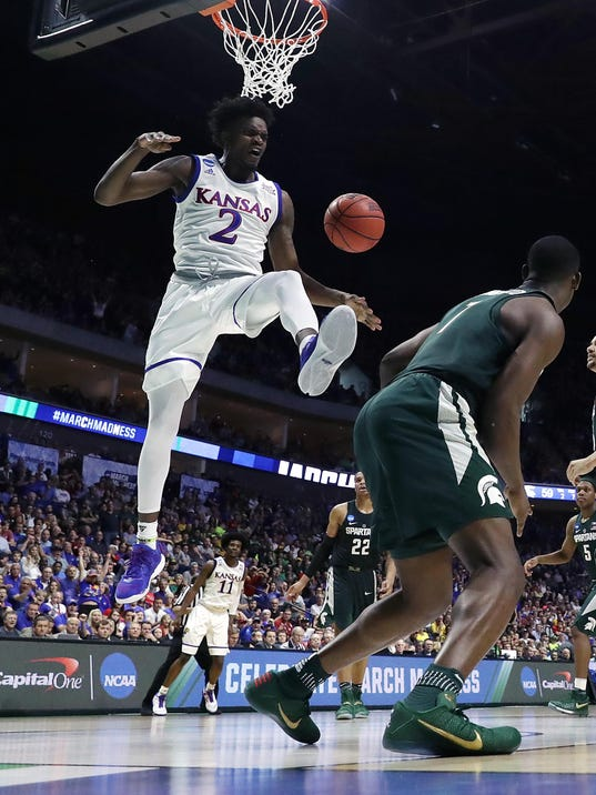 Michigan State v Kansas