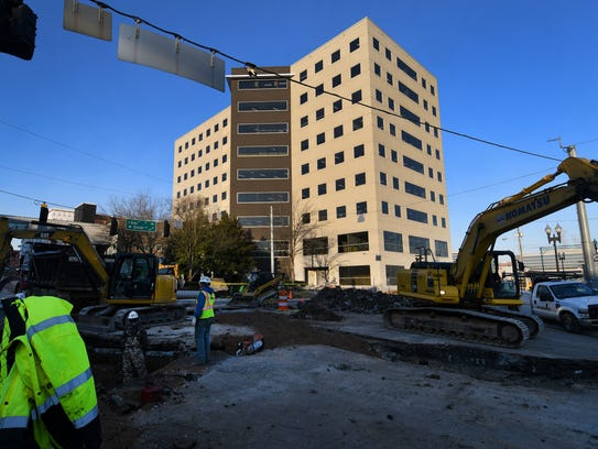 Construction continues on Regal Entertainment Group's