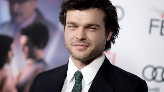 "FILE - In this Nov. 10, 2016 file photo, Alden Ehrenreich arrives at the world premiere of ""Rules Don't Apply"" in Los Angeles. The young Han Solo Star Wars spinoff, starring Ehrenreich in the role originated by Harrison Ford, finally has a title: ""Solo: A Star Wars Story."" It is set for a May 25, 2018 release. (Photo by Richard Shotwell/Invision/AP, File)"