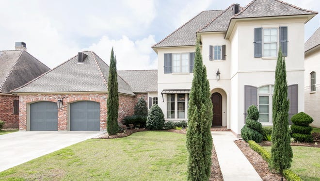 This 4 bedroom, 4 1/2 bath home has 3,914 square feet of living and is listed at $820,000.