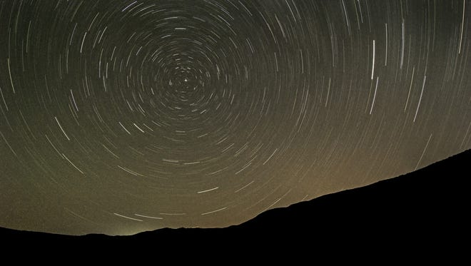 Ralph Smith of Fort Collins captured this photo of the night sky Sept. 20 at Red Mountain Open Space.