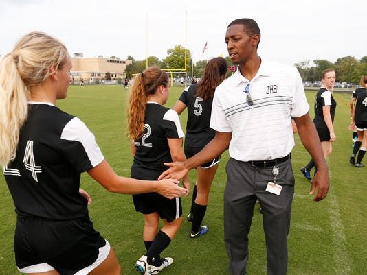 LAF Girls soccer CC vs Jeff