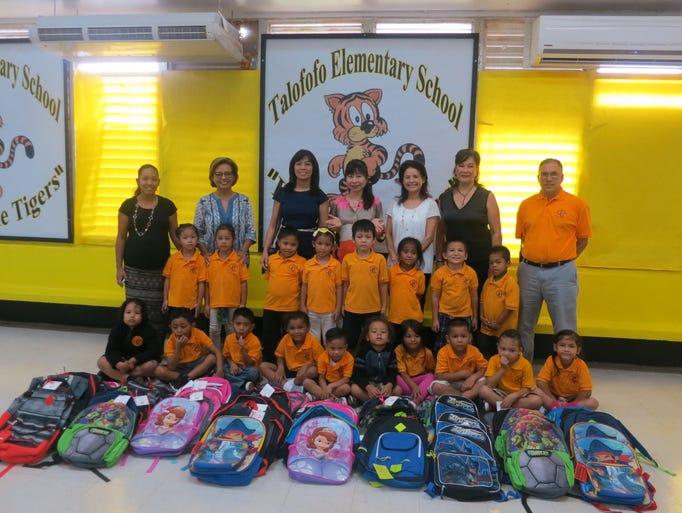 Members of the international women s club of guam donated