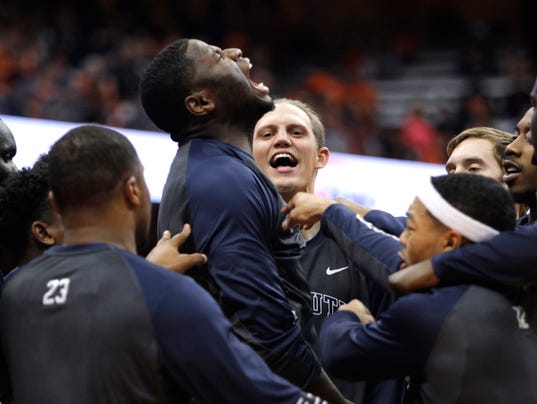 King Rice upset with late Monmouth-Canisius start