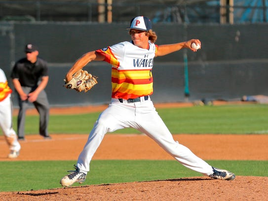 Pepperdine's Max Green was drafted by the Tigers in