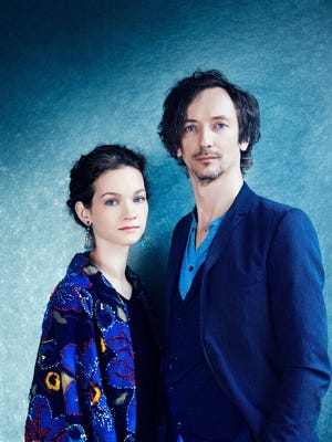 """Superstar violinist Hilary Hahn and pianist Hauschka will headline the Constella Festival with their project, """"Silfra."""""""