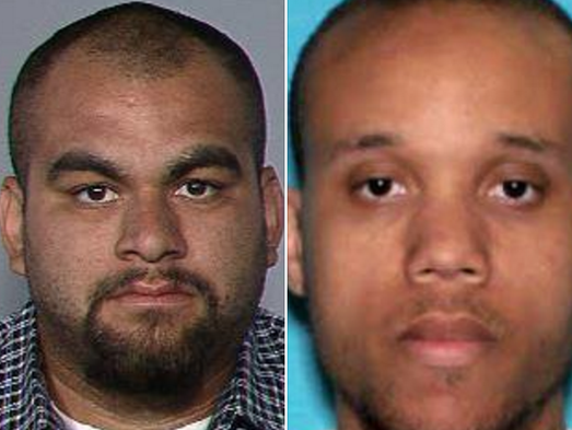 Andrew Thomas Lauro (left), 24, and Montez Lavell Wright