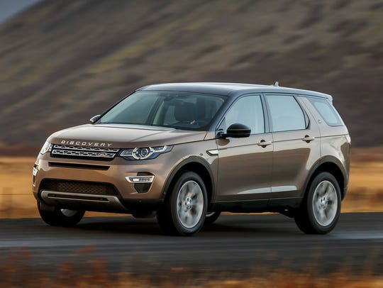 This photo provided by Jaguar Land Rover shows the