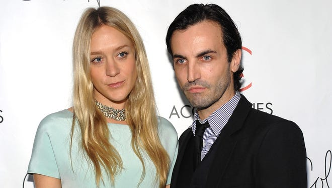 Chloe Sevigny and Designer of the Year  honoree Nicolas Ghesquiere for Balenciaga arrive at the 12th Annual 2008 ACE Awards  on  Nov. 3, 2008, in New York.