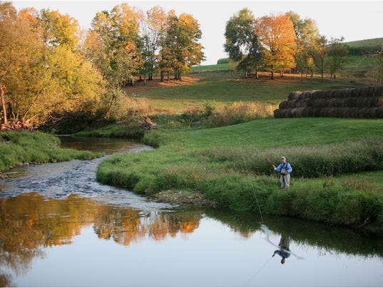 Trout fishing has 1 6 billion annual economic impact in for Driftless fly fishing