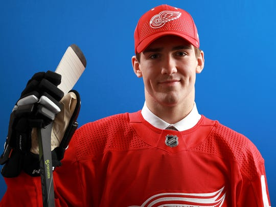 Filip Zadina was selected sixth overall by the Detroit Red Wings at the 2018 NHL draft at American Airlines Center on June 22 in Dallas.