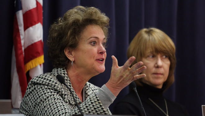 Sen. Alice Kerr explains her vote in committee for Abortion Ultrasound.