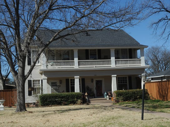 A house at 624 Amarillo St. is on the Abilene Register