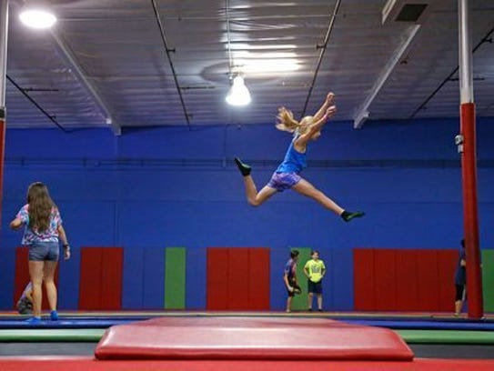Bring a friend to AZ Air Time trampoline park on Valentine's