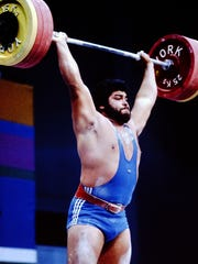 Mario Martinez is one of multiple Olympians from the Salinas Valley area and the last American to medal in Olympic Weightlifting when he took silver in 1984.