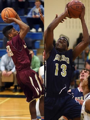 Arlington High School's Jon Girard and Our Lady of Lourdes' James Anozie are part of potent frontcourt tandems.