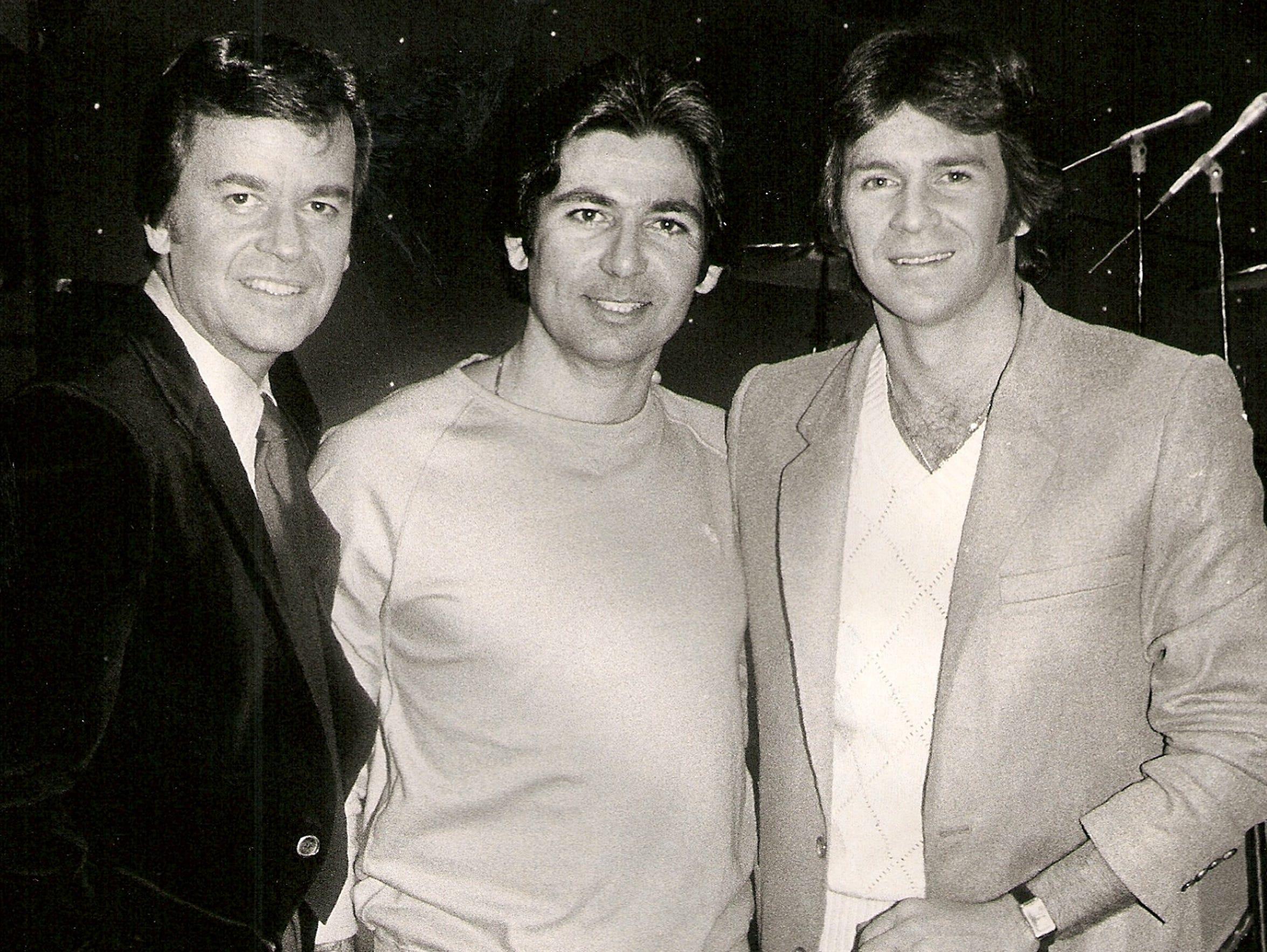 From left: Dick Clark, Robert Kardashian and Chris