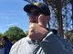 Jim Harbaugh gives a thumbs-up to the trip to Paris.