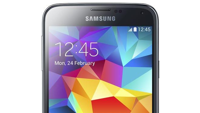 Samsung's Galaxy S5 smartphone.