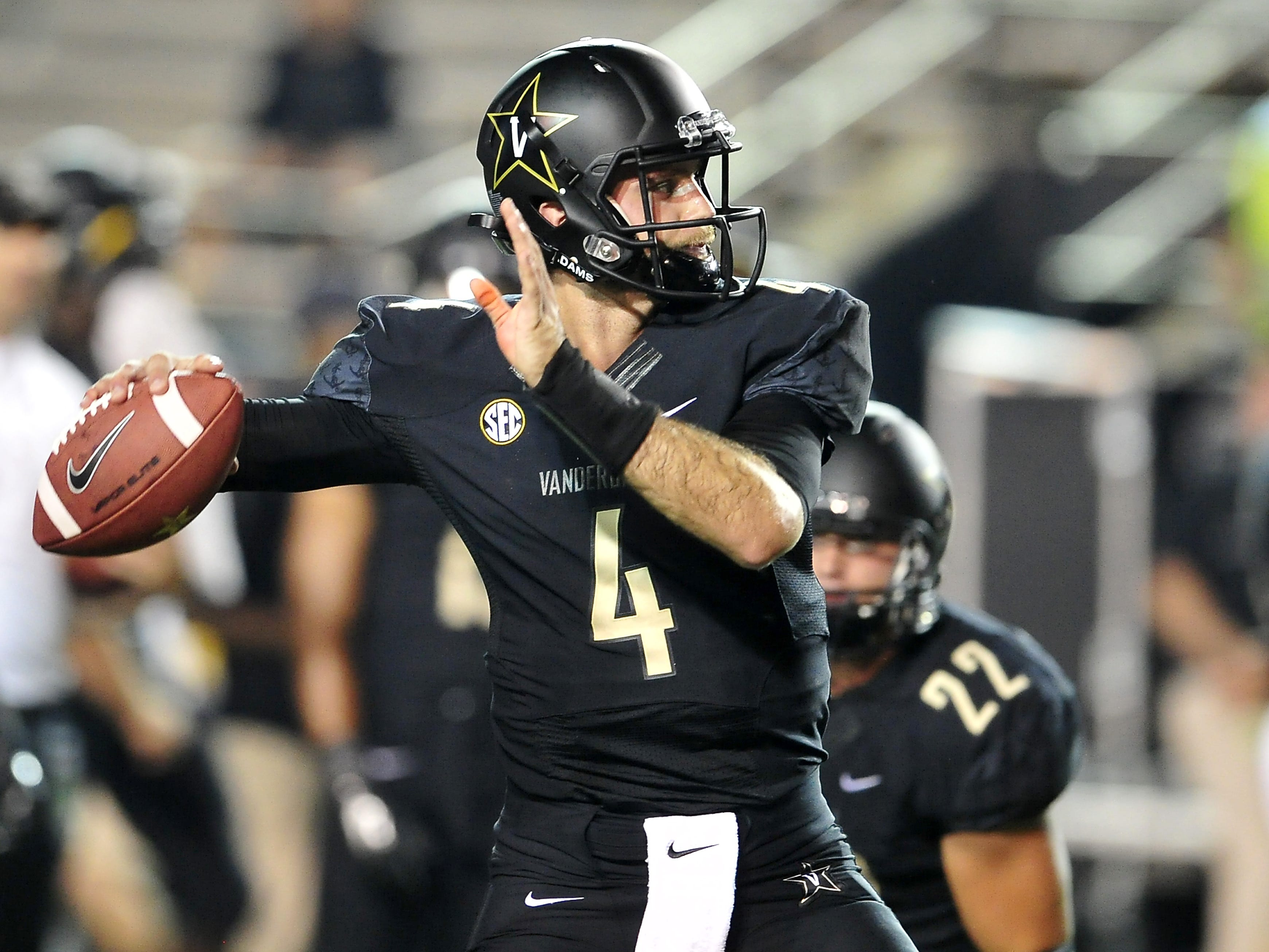 Vanderbilt quarterback Patton Robinette hopes to return to action Saturday after being sidelined by a concussion since Sept. 20.