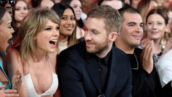 Taylor Swift and Calvin Harris split last year.
