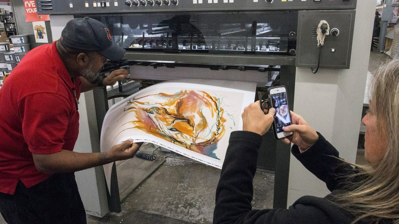 Meet the creative sisters behind the 2018 Kentucky Derby Festival poster.