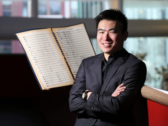 Sebastian Chang, is one of the music curators for the Battleship Potemkin that will be performed during the upcoming Classic Film and Music performance at the Kentucky Center for the Arts.Feb. 11, 2017