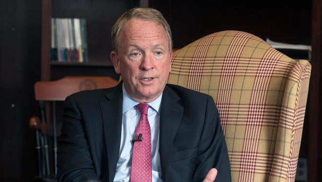 Dr. Greg Postel is the interim president at the University of Louisville. 10/31/17