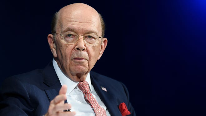 US Commerce Secretary Wilbur Ross attends the annual World Economic Forum (WEF) on January 24, 2018 in Davos, eastern Switzerland. He will decide if a question about citizenship will be added to the 2020 Census.