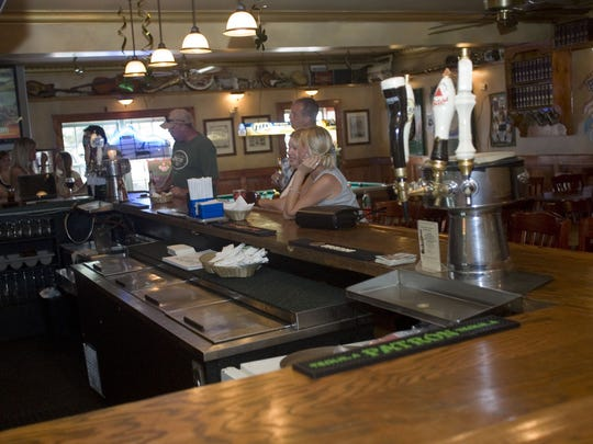 The interior of The Claddagh, an Irish pub on Bay Avenue in Highlands.
