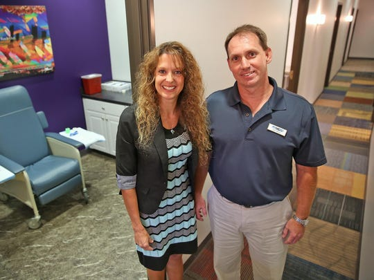 Kristi and Jim Adams are the owners of Any Lab Test Now in Greenwood, which they opened in 2009. Two years ago, they decided to open a second location in Avon.
