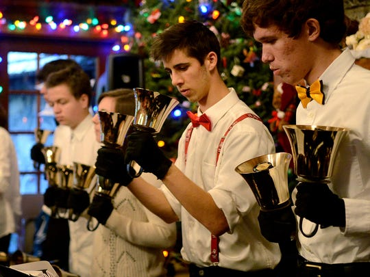 The Livingstone Adventist Academy Handbells will perform 3 p.m. Sunday, Dec. 13, during the Christmas Festival at Silver Falls State Park.