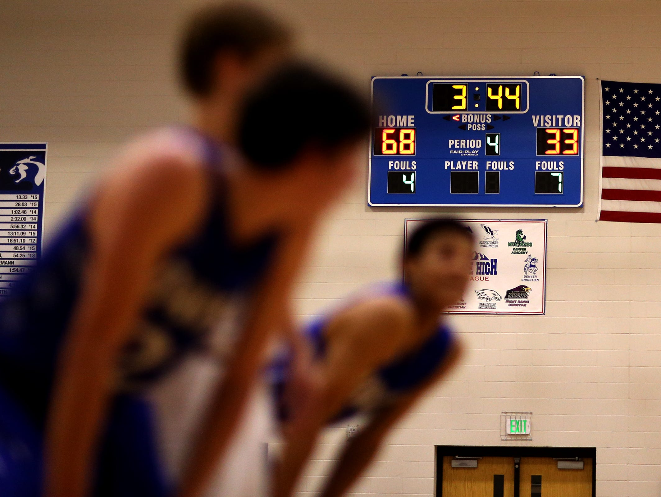 More than 700 high school basketball games in Colorado have been decided by 30 points or more this season.