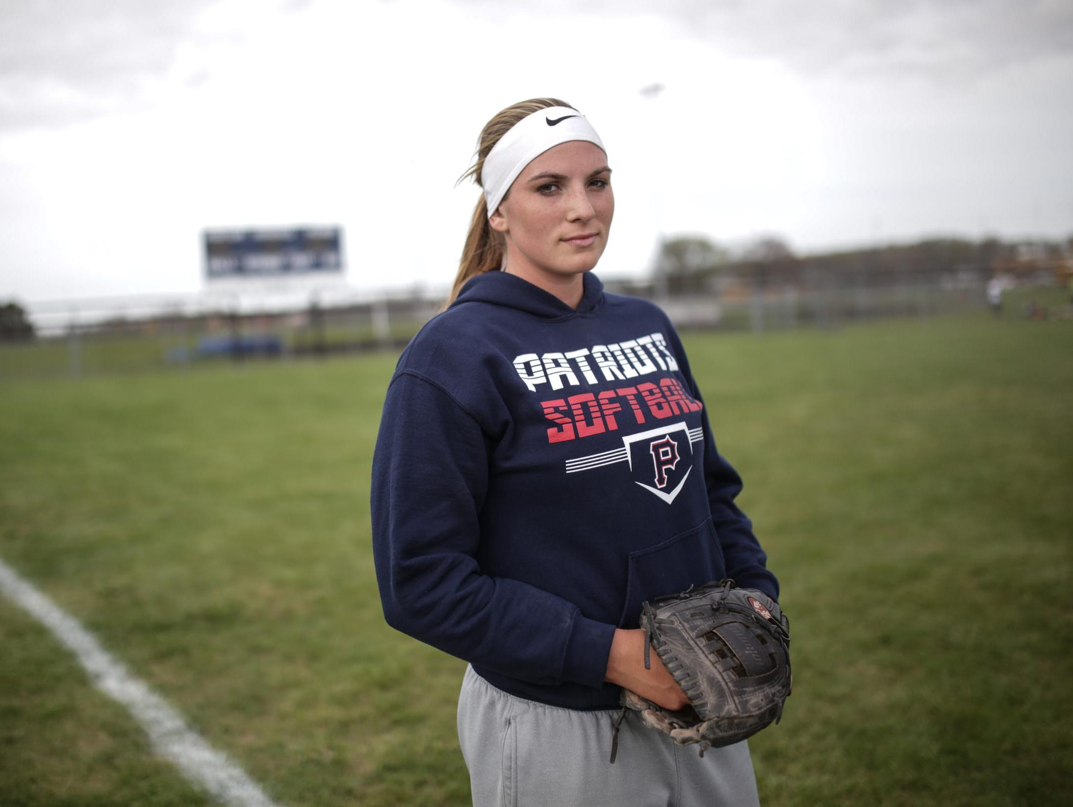 Unionville-Sebewaing's Nikki Bauer is the ace for the defending Div. 4 state champs, and may be the first player from Michigan to sign with Stanford.