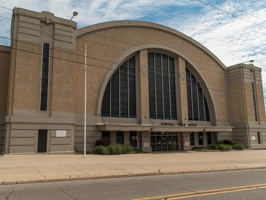 The Battle Creek Central Fieldhouse will be used for
