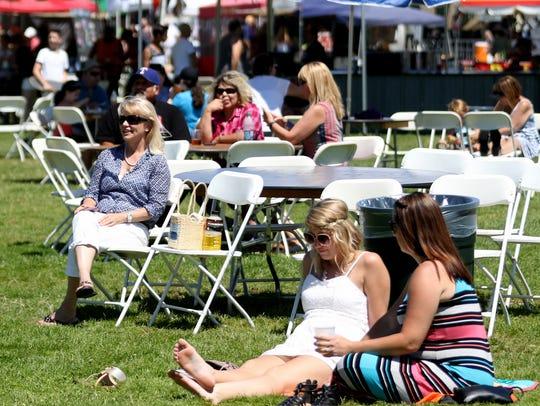 The Bite & Brew festival at Riverfront Park in Salem