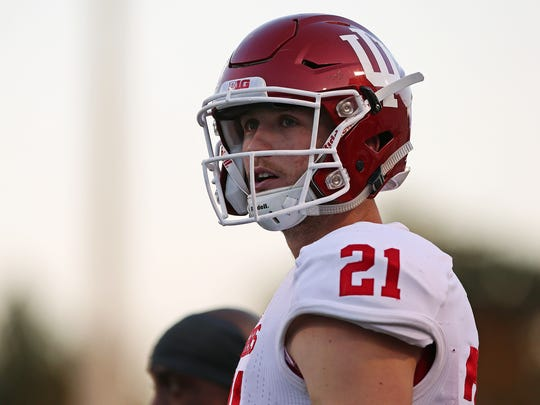 JUCO transfer Richard Lagow  is competing for IU's starting QB job.