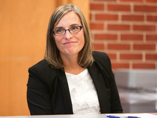 Salem-Keizer Superintendent Christy Perry meets with