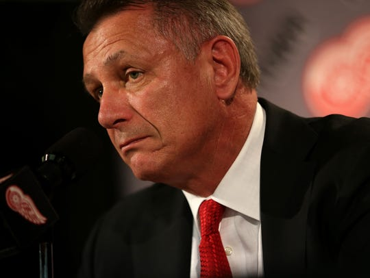 Detroit Red Wings general manager Ken Holland talks