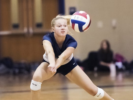 The Chambersburg girls volleyball team earned the No.