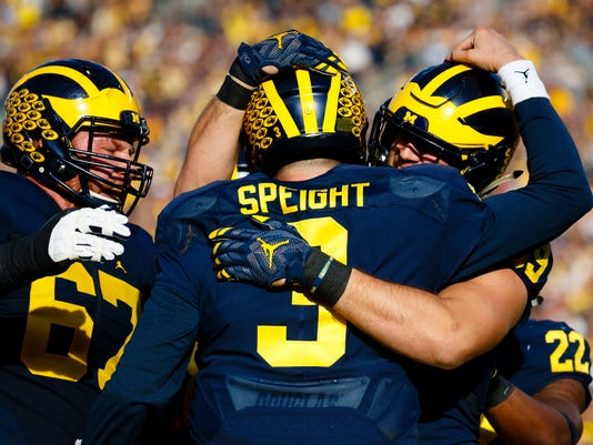 NCAA Football: Maryland at Michigan
